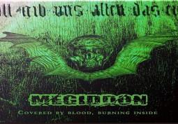 REVIEW: Megiddon – Covered In Blood, Burning Inside