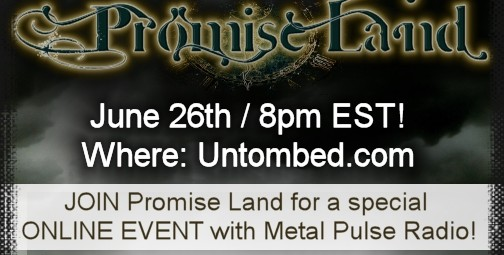Promise Land – Online Event at Untombed -June 26th
