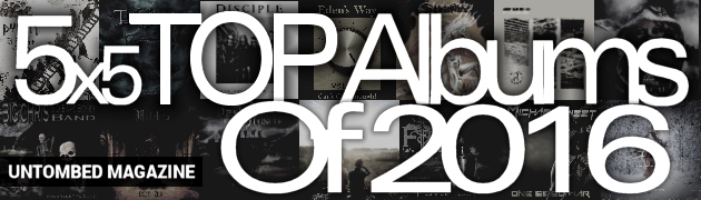 Untombed Magazine - Top Christian Rock and Metal Albums of 2016